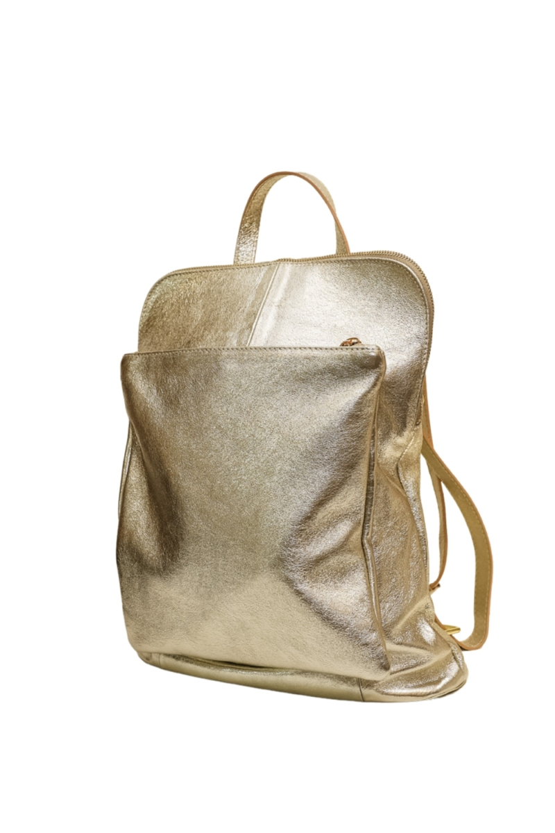Olasz női bőr hátizsák